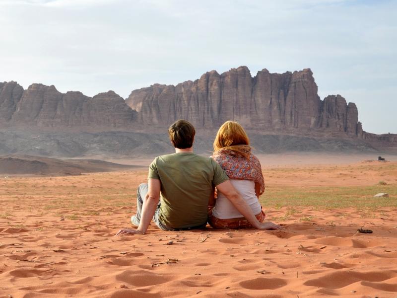 Maravillas de Petra, Wadi Rum y Mar Rojo