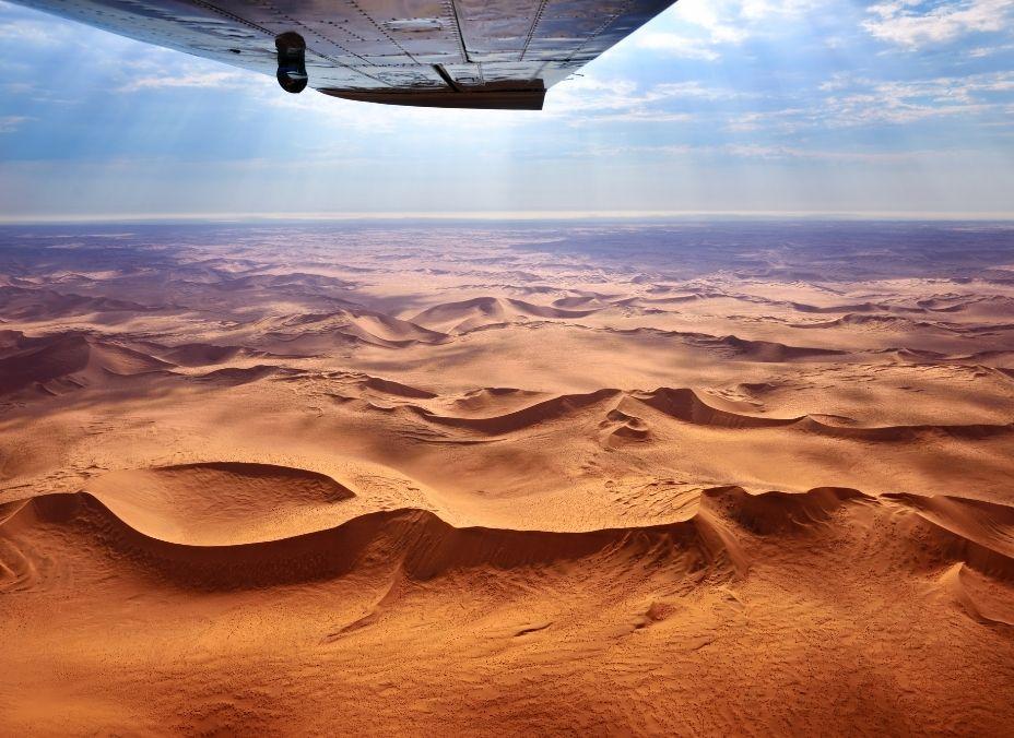 Namibia en avioneta
