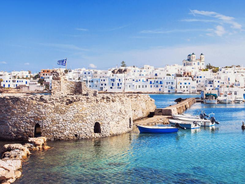 Atenas, Paros y Naxos