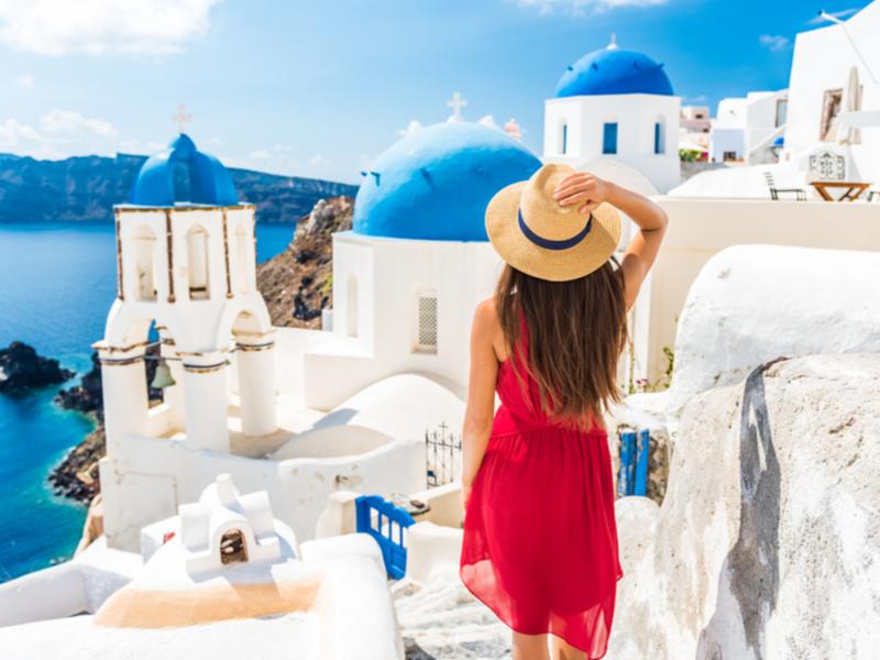 Atenas, Paros y Santorini