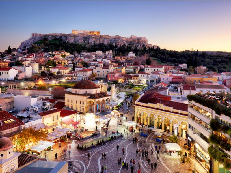 Atenas y Crucero Perlas del Egeo - Opción A