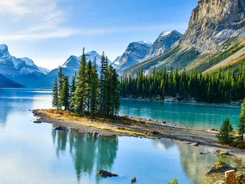Fascinante Oeste Canadiense con Whistler