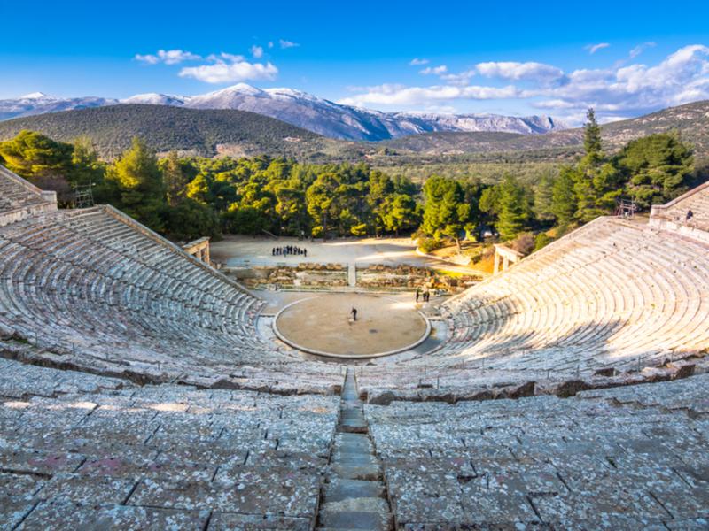 Maravillas del Peloponeso