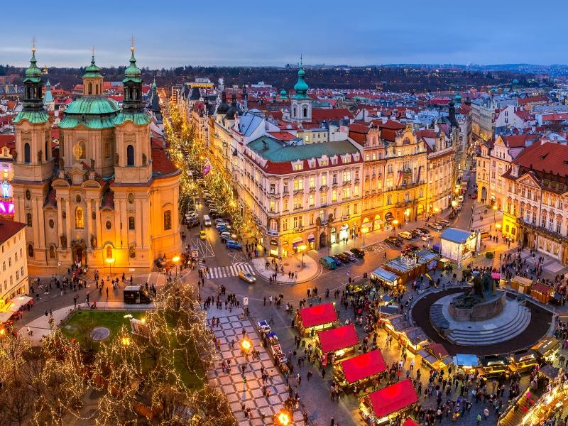 Mercadillos de Navidad en Praga - Salida desde Zaragoza